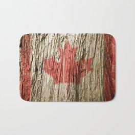 Canada on woods Bath Mat