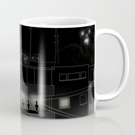 Dog on the roof Coffee Mug