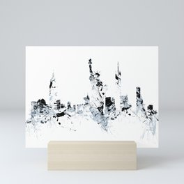 NEW YORK SPLASH Skyline Mini Art Print