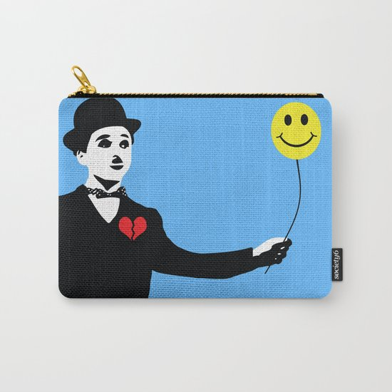 Silent Prodigy - Charlie Chaplin Carry-All Pouch