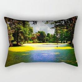 Cypress Swamp at Magnolia Plantation Rectangular Pillow