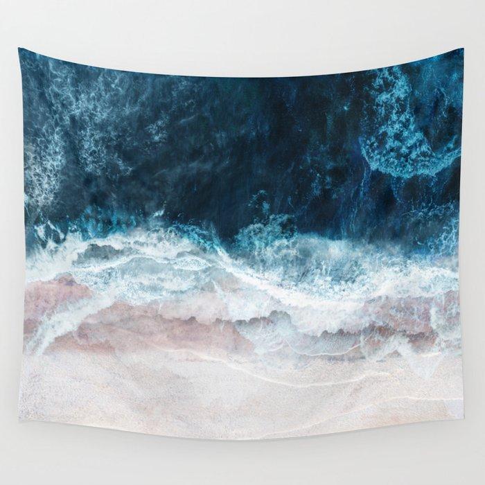Blue Sea II Wandbehang