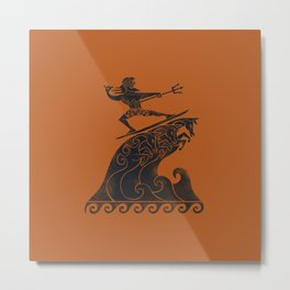 Broseidon Metal Print