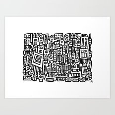 MACEM II - PM Art Print