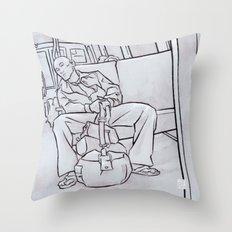 SUBWAY 4 Throw Pillow