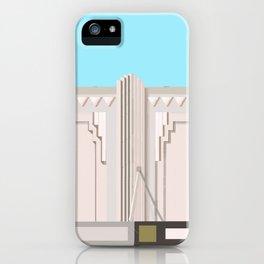 Art Deco Detail Junction Street No.2 iPhone Case