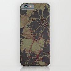 Batik Poppies iPhone 6s Slim Case