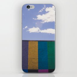 Colored Wall iPhone Skin