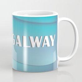 Galway, Ireland - Skyline Illustration by Loose Petals Coffee Mug