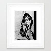 bondage Framed Art Prints featuring Bondage by SeanAndOnAndOn
