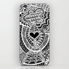 Love Doodle iPhone Skin