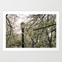 narnia Art Prints featuring Faux Narnia  by phokai