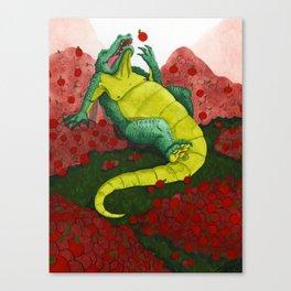 Allison's Alligator Canvas Print
