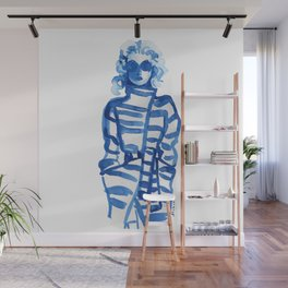 Jeanne Moreau in a Vivienne Westwood outfit Wall Mural
