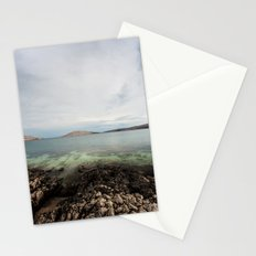 Under horizon Stationery Cards