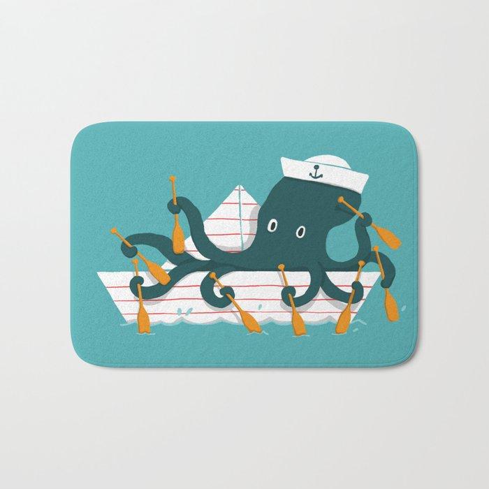 Sailor Octopus Bath Mat