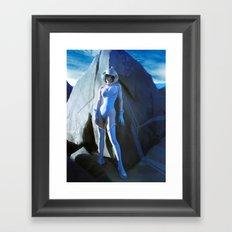 Pepper Rock Framed Art Print