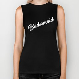 Bridesmaid Biker Tank