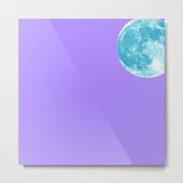 Blue Lune Metal Print