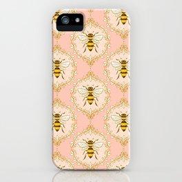 Vintage Honey Bees iPhone Case