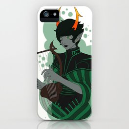 Dolorosa with Lyre iPhone Case