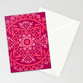 Pink Madala Stationery Cards