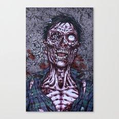 Black Flies Canvas Print