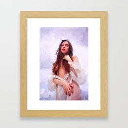 """""""rising from the sea"""" Framed Art Print"""