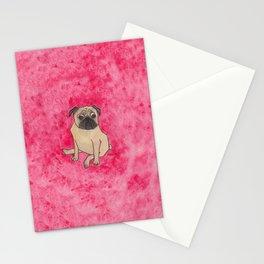 A pug Stationery Cards
