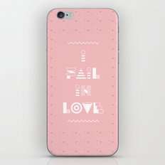 I fail in Love iPhone & iPod Skin
