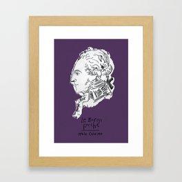 Italo Calvino   La baron perché Framed Art Print