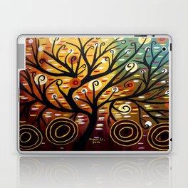 Abstract tree-9 Laptop & iPad Skin