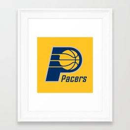 Pacers Framed Art Print