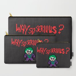 The Dark Pixel Carry-All Pouch