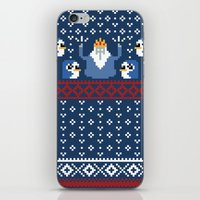 minions iPhone & iPod Skins featuring Ice King and Minions by paperboyjim