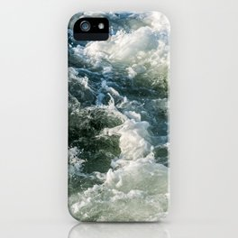 Choppy Water iPhone Case