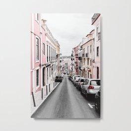 Pastel Building 02 Metal Print