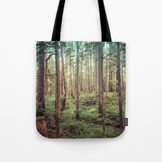 Forest Trees - Outdoor Adventure Tote Bag