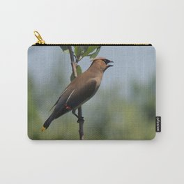 Cedar Waxwing at Hillsboro Pond Carry-All Pouch