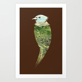 ...To The Birds Art Print