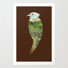 ...To The Birds Art Print