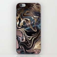 Deep Liquid Gold iPhone Skin
