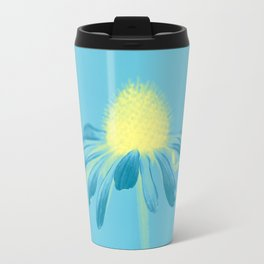 Echinacea in pastel shade Travel Mug