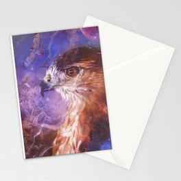 Hawk Spirit Animal - Shamanic Power Animal  Stationery Cards