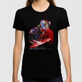 The Painter who´s looking for the right words to discribe his work - 3 T-shirt