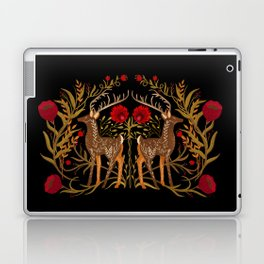 Two Stags Protecting The Dark Forest Gate Laptop & iPad Skin