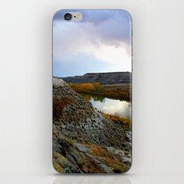 Badlands River, 1 iPhone Skin