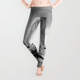 Bare Butt Black Pool Leggings
