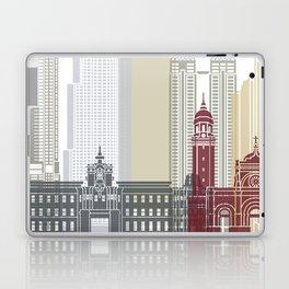 Manila skyline poster Laptop & iPad Skin