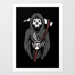 Coffee Reaper Art Print
